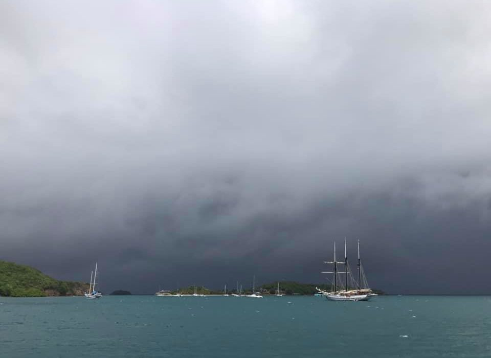 The Hurricane Season in the Caribbean. How we survived our first tropical storm Gonzalo.