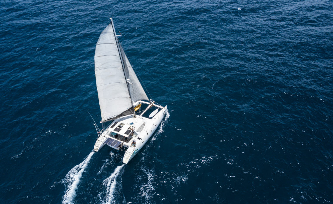 New project! Umadum crew is working on a film about perfomance cruising catamaran.